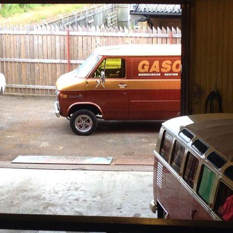 Fin besök i garaget idag. Gasoline magazine gjorde reportage!