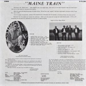 LP-1659, Maine Train, back side