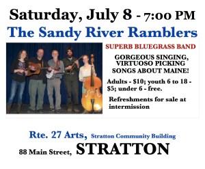 Sandy River Ramblers concert 7/8