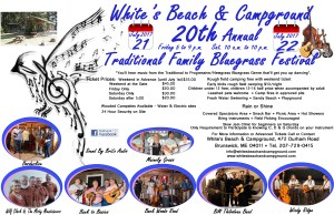 White's Beach & Campground 20th Annual Traditional Family Bluegrass Festival 7/21 & 7/22