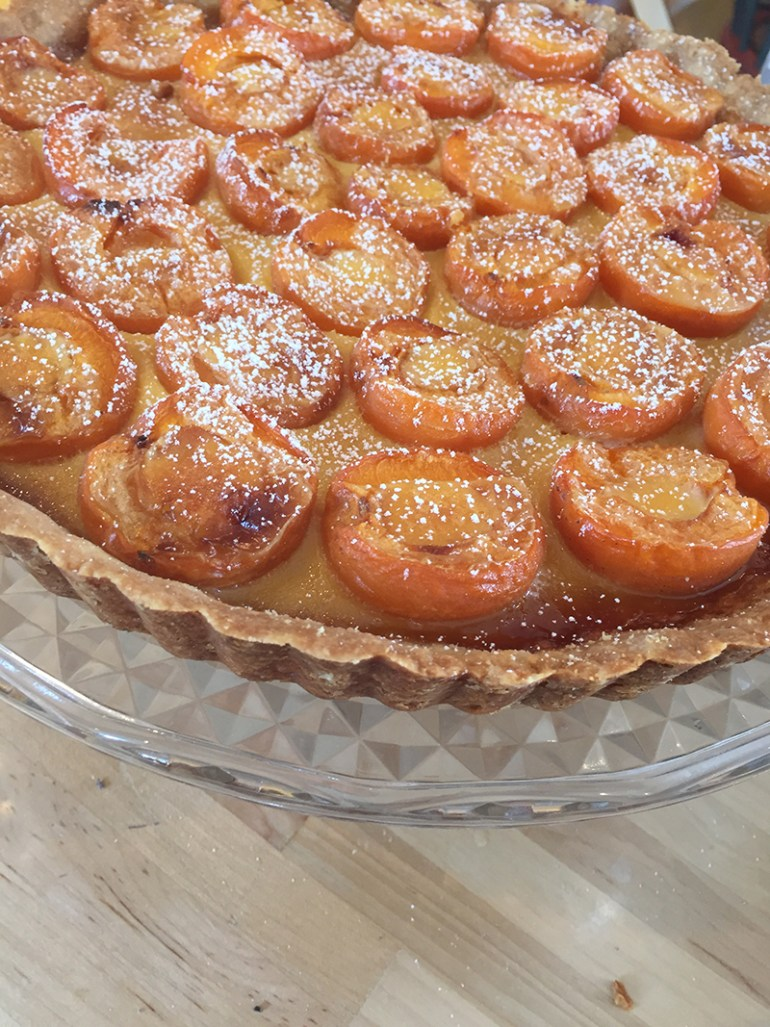 Apricot tart EatWith Mainlyfood