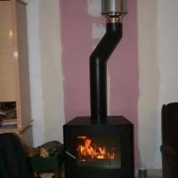 Installation du poêle à bois...
