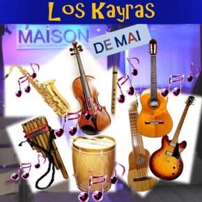 Los K'ayras en concert le 5 juin 2016 à 18h