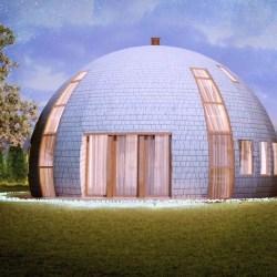 maison dome archives alternative bois concept. Black Bedroom Furniture Sets. Home Design Ideas
