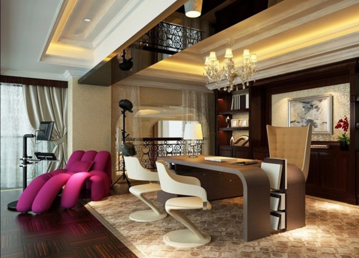 Office Interior Inspiration LUXURY CORPORATE AND HOME OFFICE