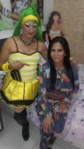 Biuzinha Priqui e Gretchen