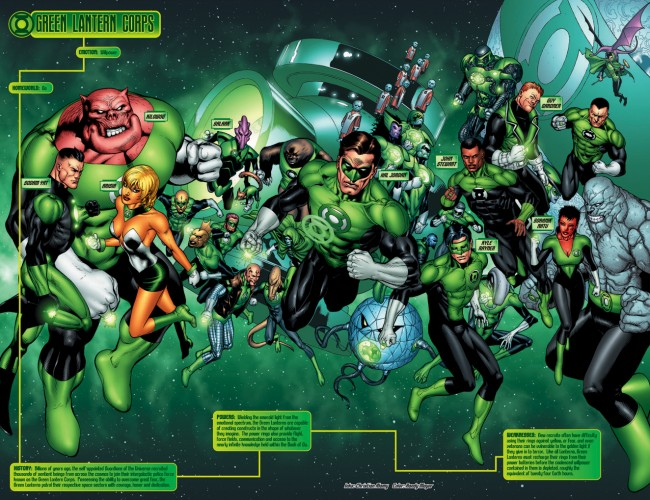 Art by Doug Mahnke (click for super-sized view)