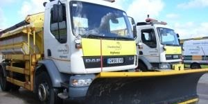 Gritting teams swing into action to deal with cold snap