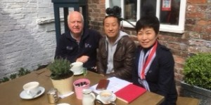 Chinese TV Team Visits Macclesfield
