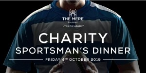 The Mere Golf Resort & Spa set to host Charity Sportsman's Dinner to support Children's Adventure Farm Trust
