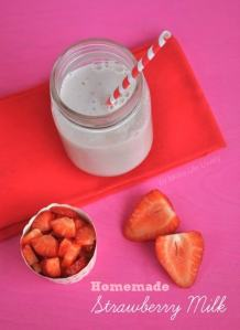 Homemade Strawberry Milk Recipe