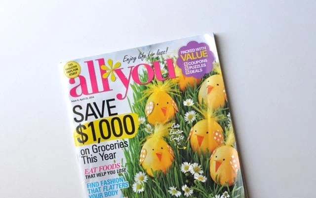 April 2014 Issue of ALL YOU magazine