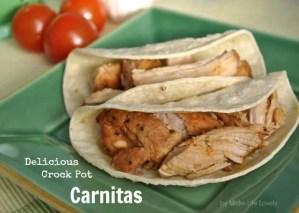 Delicious Crock Pot Carnitas Recipe