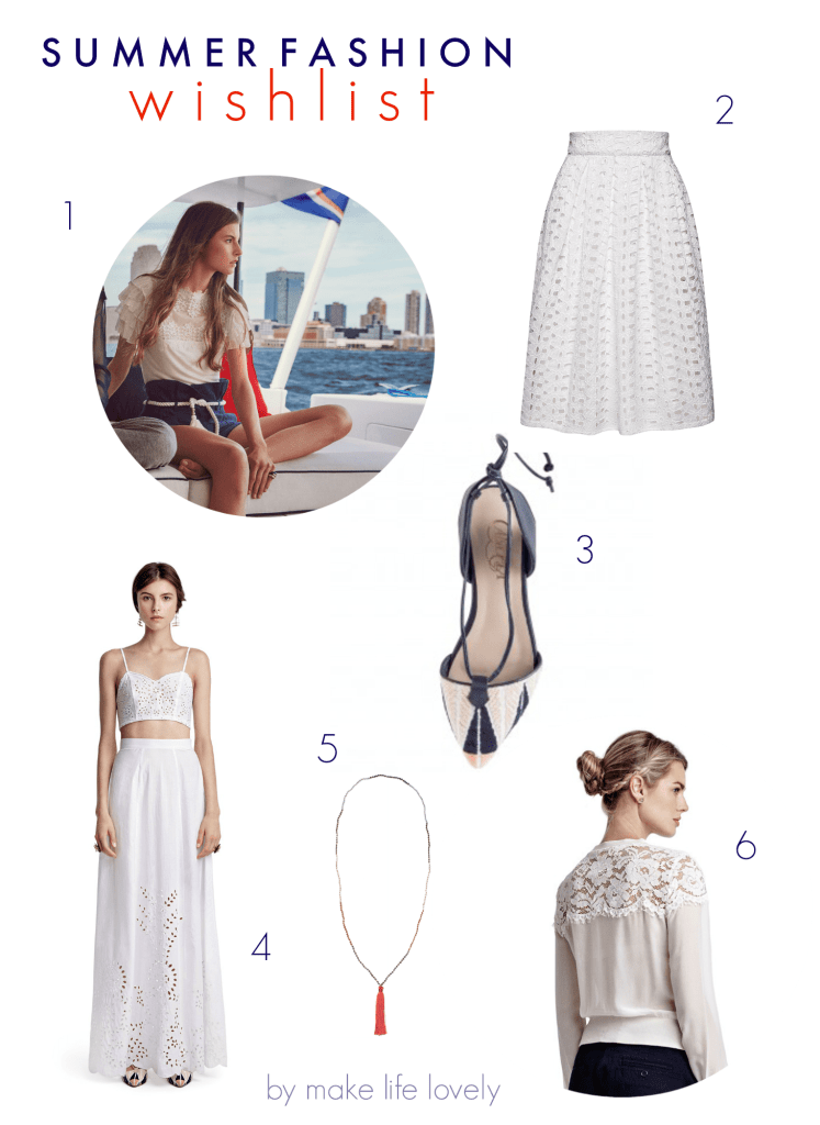 Summer Fashion Wish List | by Make Life Lovely