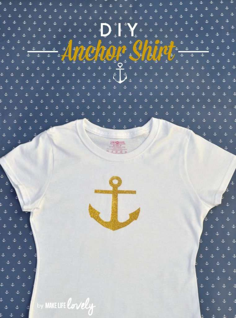 DIY Anchor Shirt