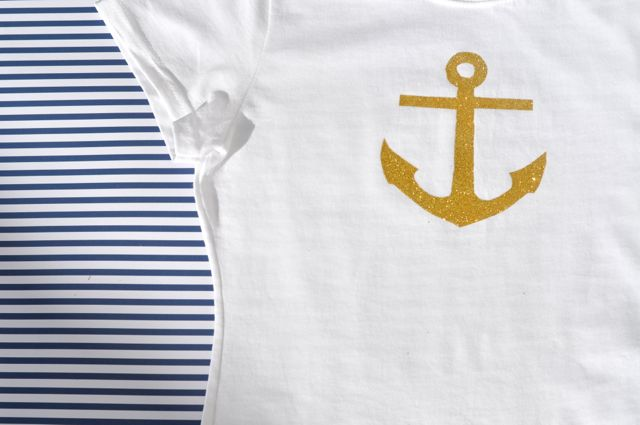 DIY Anchor T-Shirt