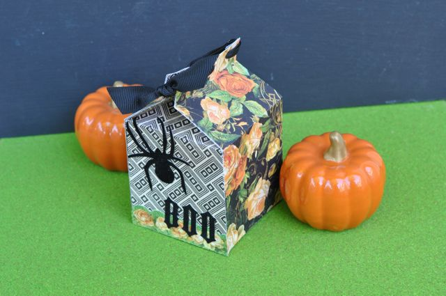 DIY Halloween Milk Carton Box