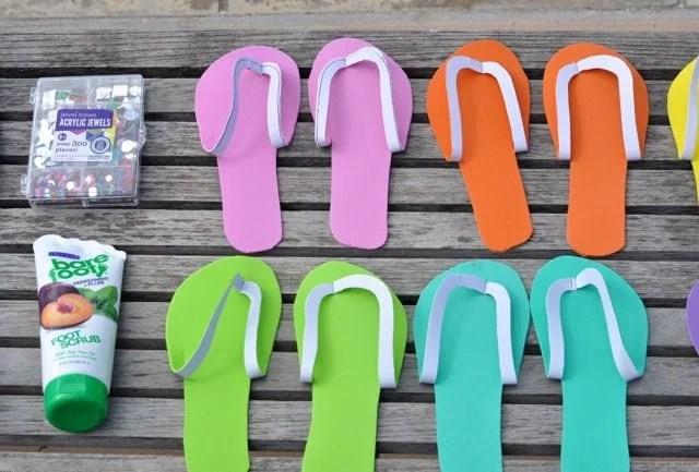 DIY Spa Shoes