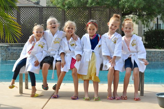 Disney Princess Spa Party Ideas for Girls
