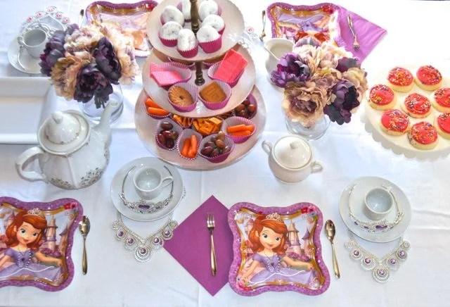 Princess Sofia Birthday Party Ideas