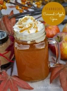 Starbucks Caramel Apple Spice Recipe