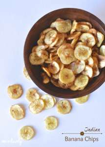 Banana Chips Recipe + Win a Trip to India