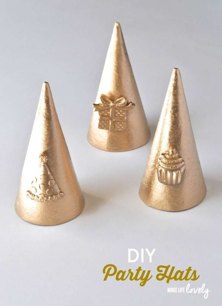 DIY Party Hats with Mod Melts