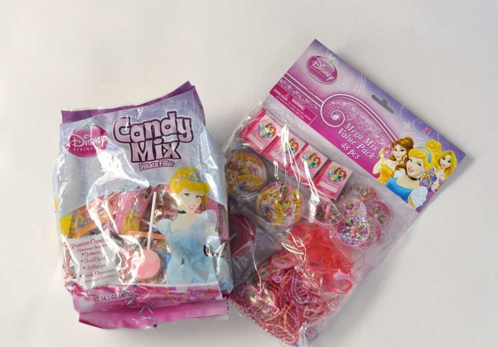 Disney princess candy at Walmart