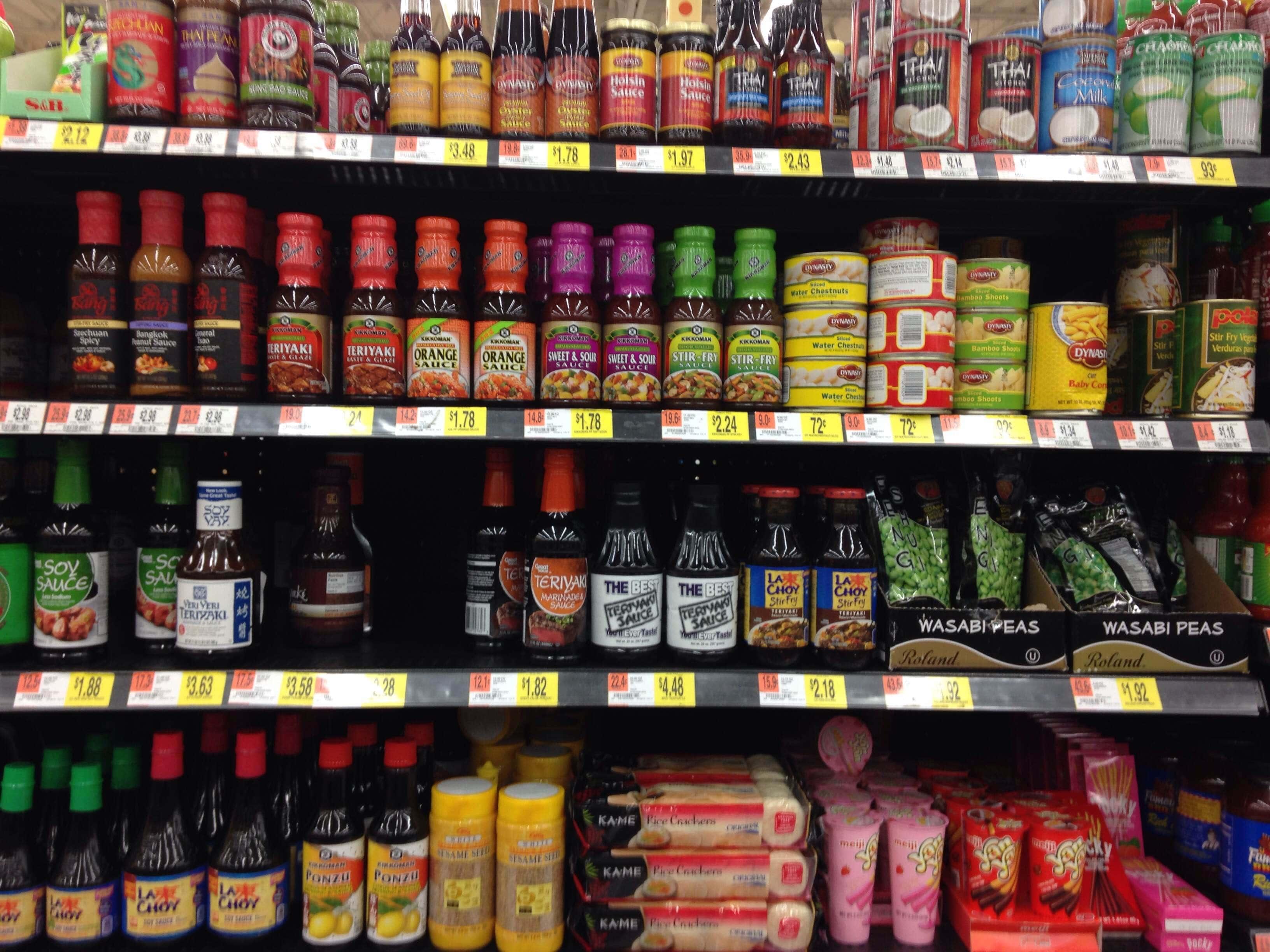 Kikkoman at Walmart