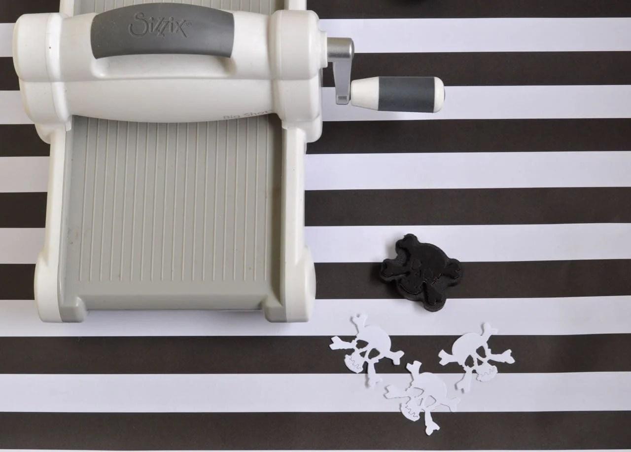 DIY Pirate Straws with Sizzix