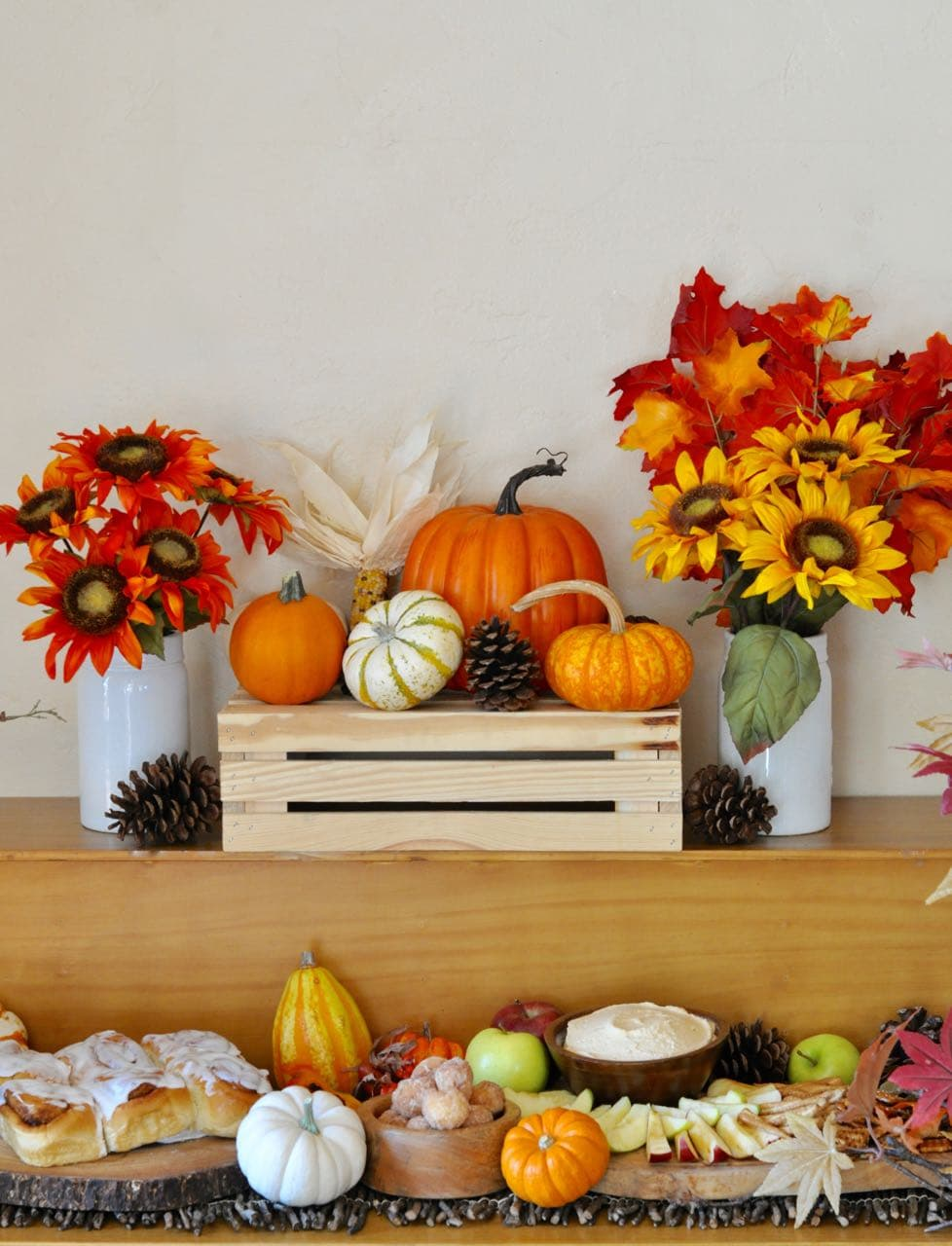 Fall Get Together and Pumpkin Cheesecake Dip Recipe - Make Life Lovely