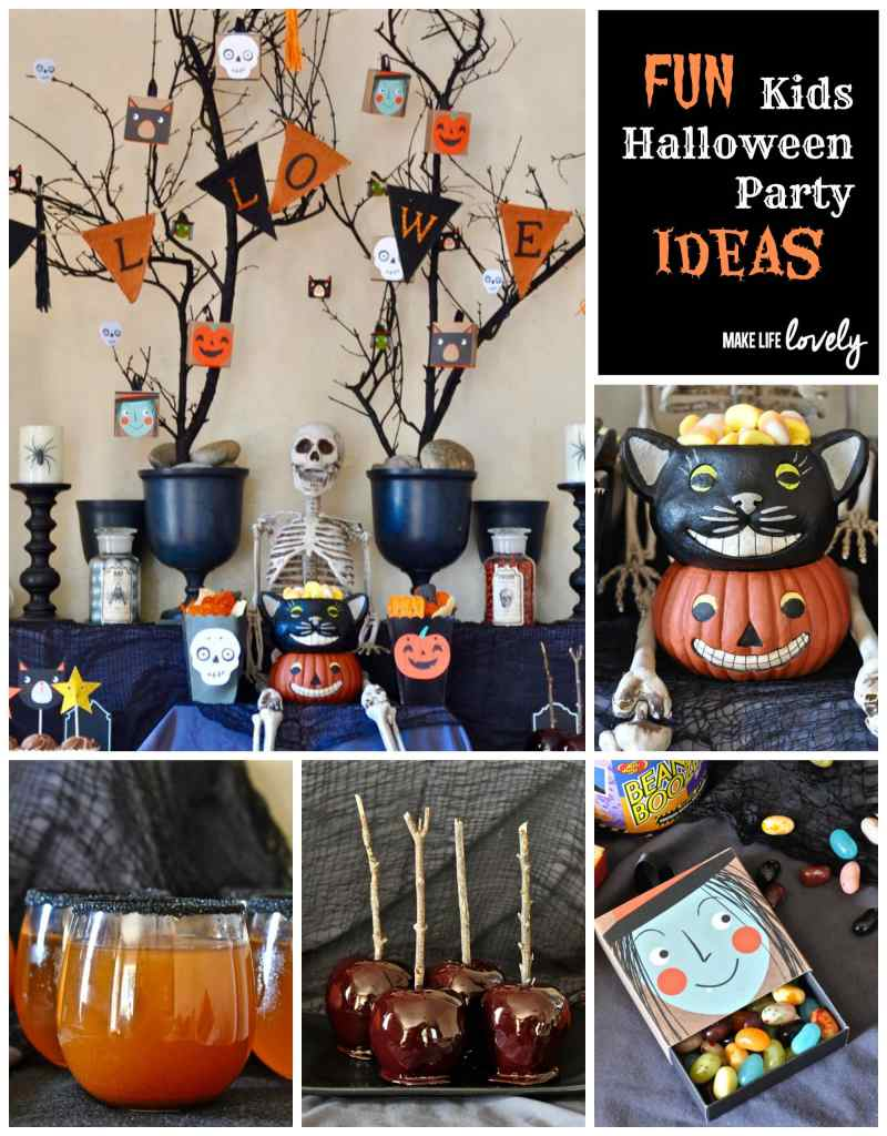 Fun Kids Halloween Party Ideas