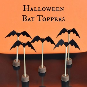 Cute Halloween Bat Toppers