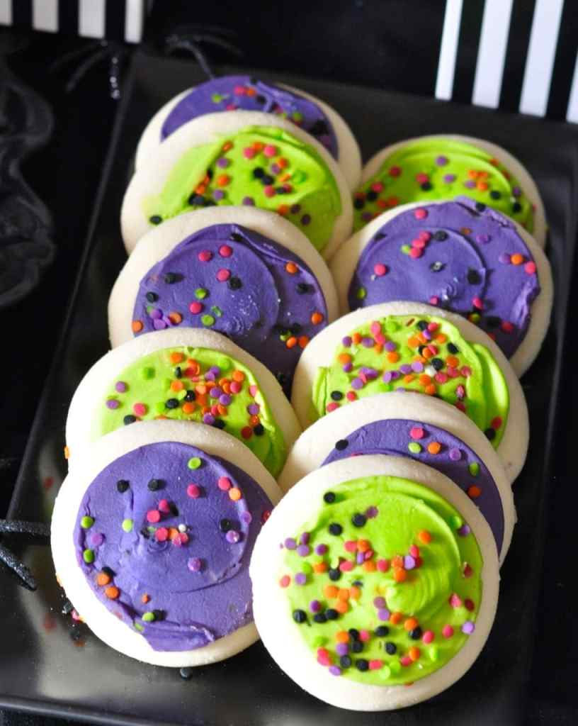 Halloween Cookies at a Halloween Party