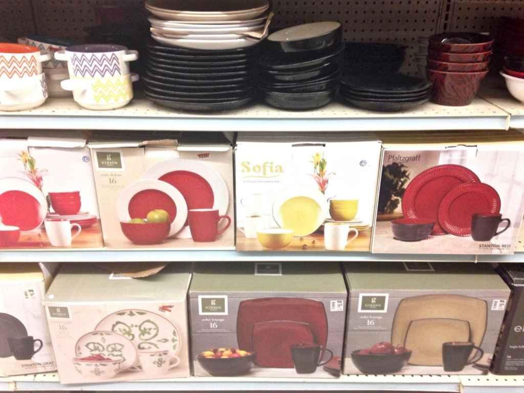 Dishes at Big Lots