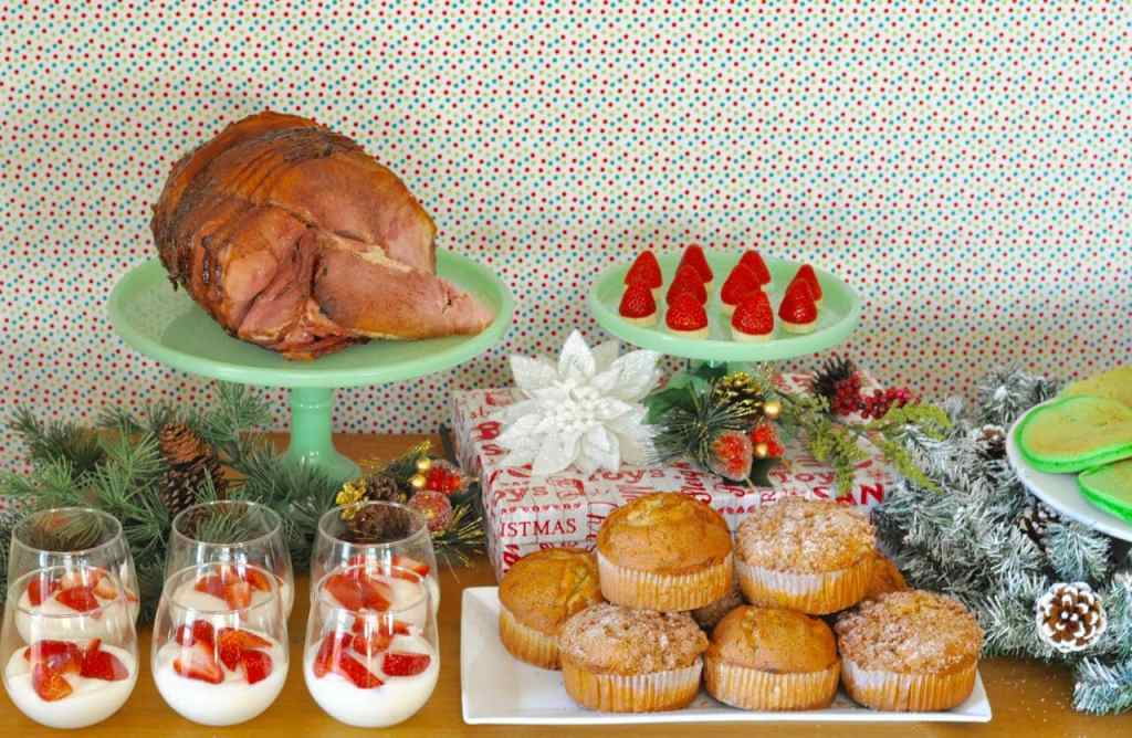 Holiday breakfast table ideas