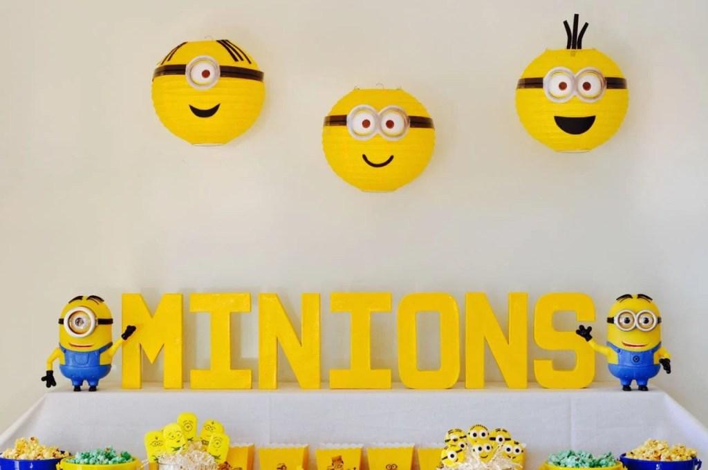Cute Minions Party Ideas
