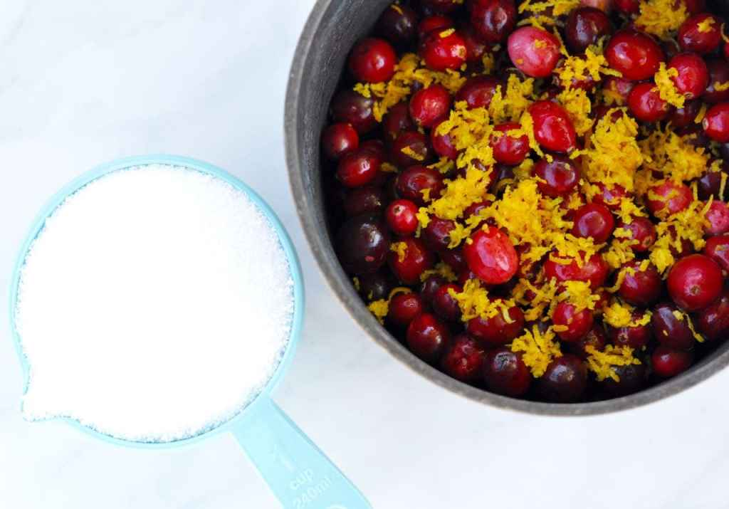 Fresh cranberry orange sauce recipe... YUM!