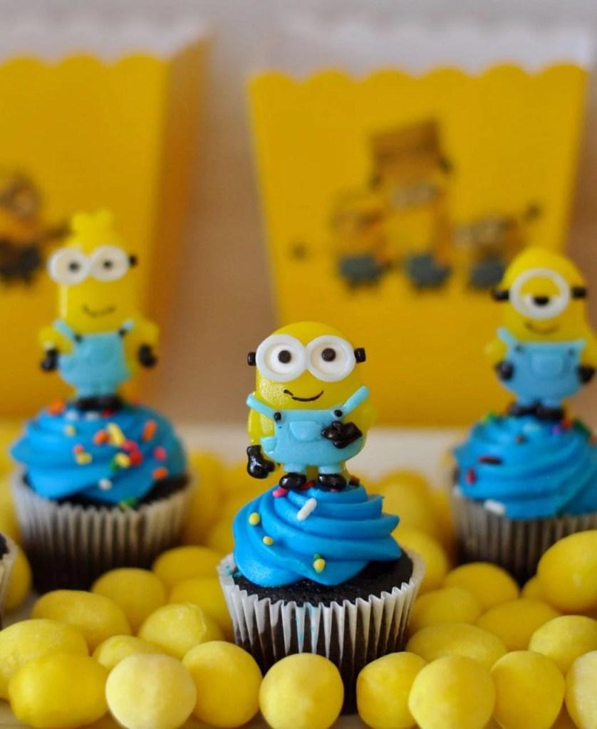 Minions Cupcakes DIY