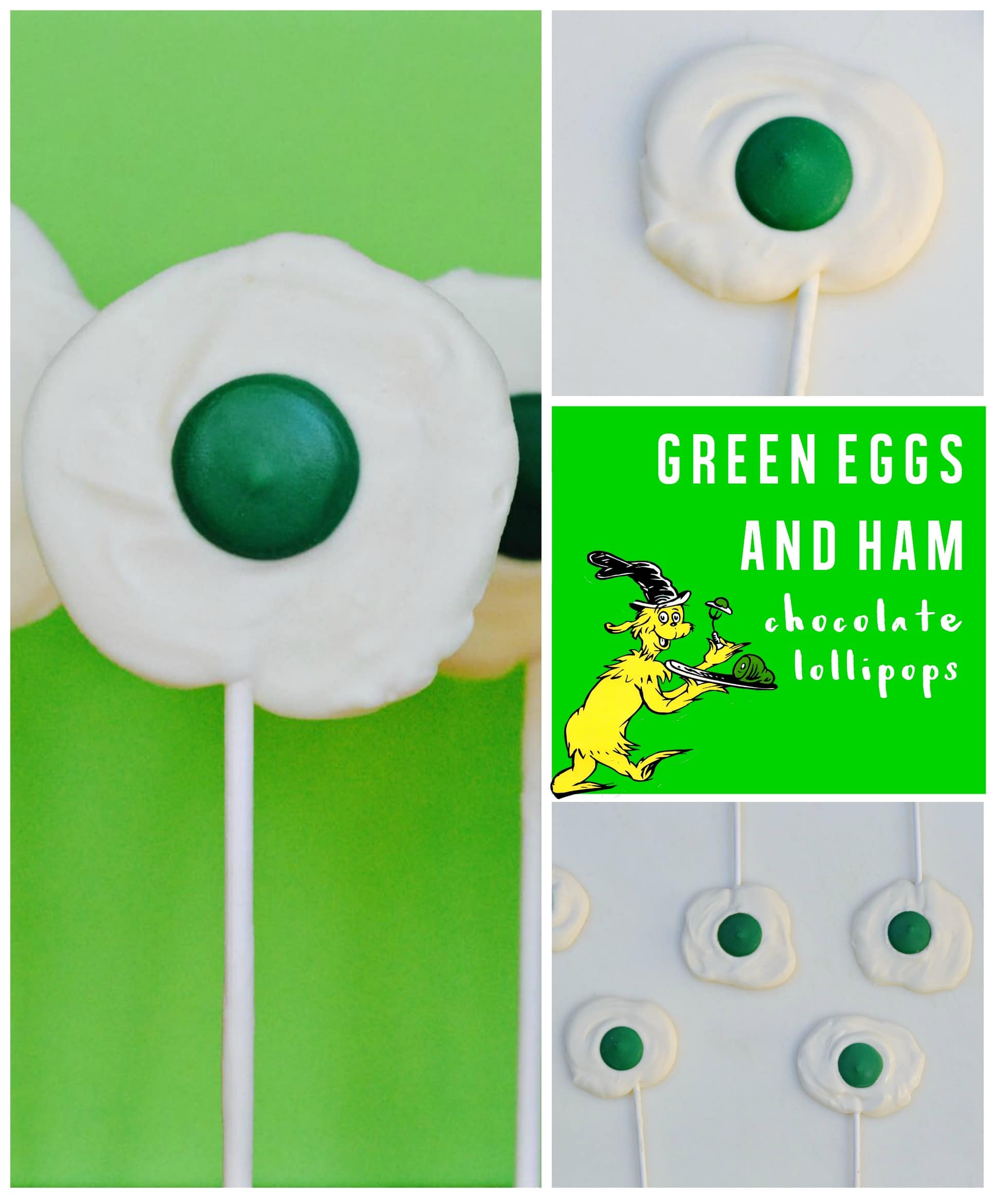 What's better than green eggs and ham? Green eggs and ham chocolate ...