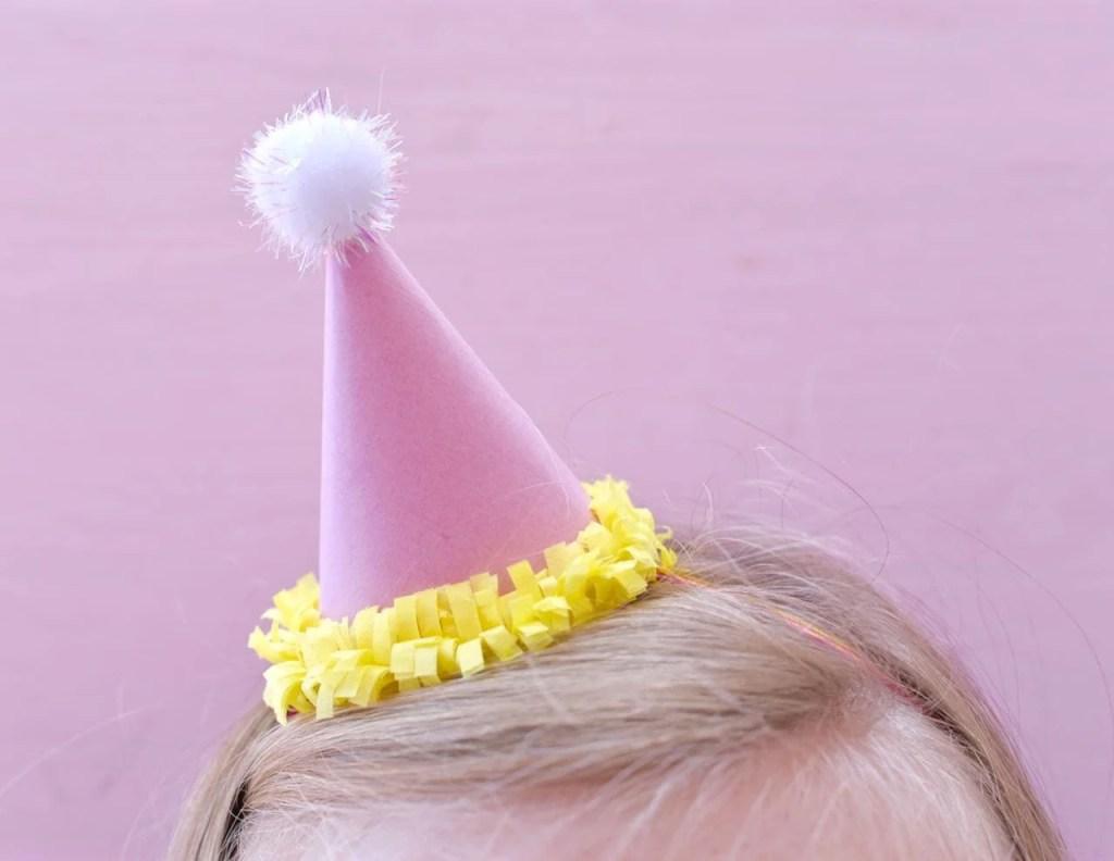 Mini Party Head Headband DIY