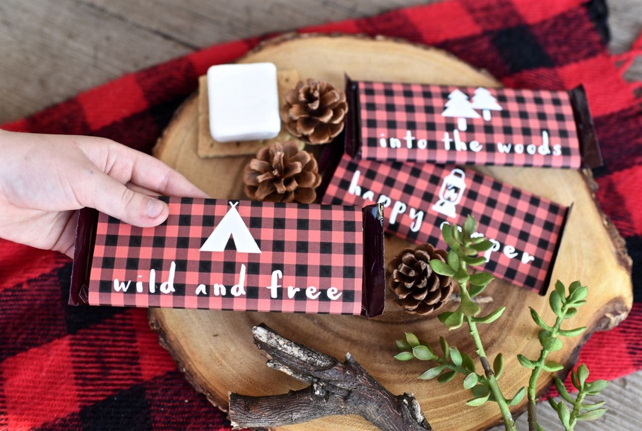 Free printables for a backyard capming party