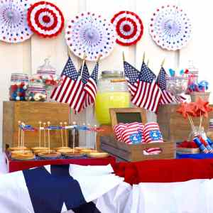 Old Fashioned Fourth of July Party