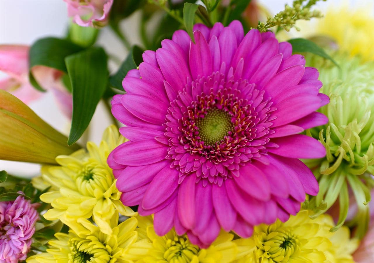 Grocery store flowers floral arrangement