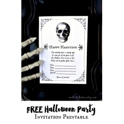 Remarkable Free Halloween Party Invitation Super Free Halloween Party Invitation Printables Make Life Halloween Party Invitations Printable Free Halloween Party Invitations