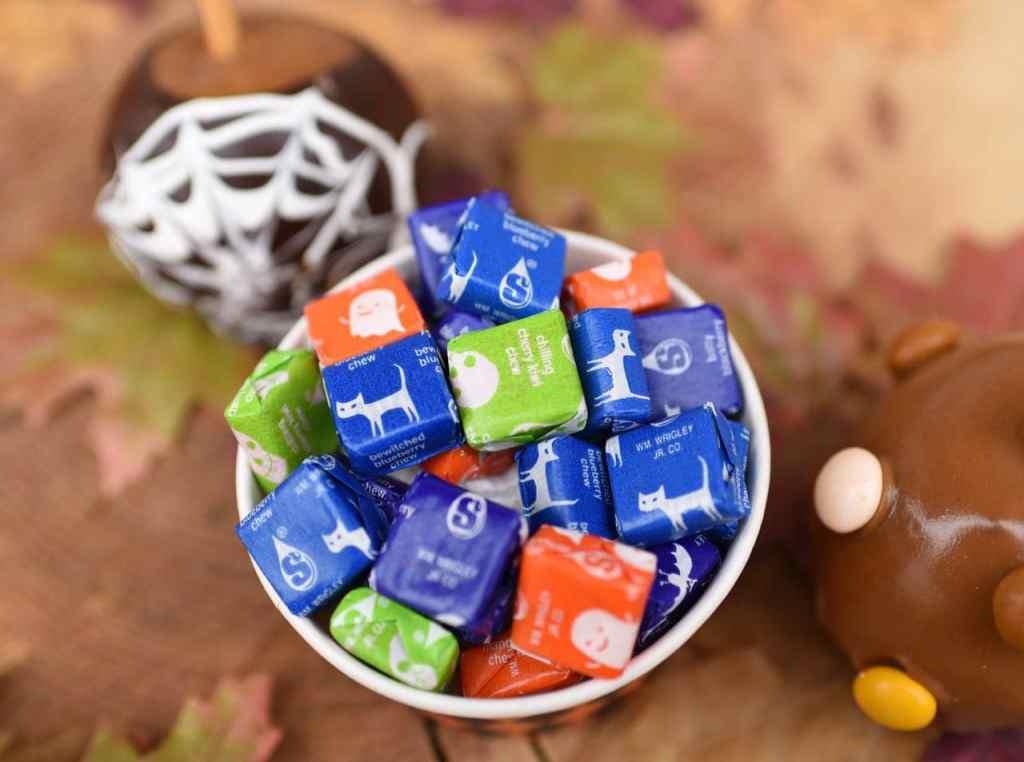 Halloween Starburst candy
