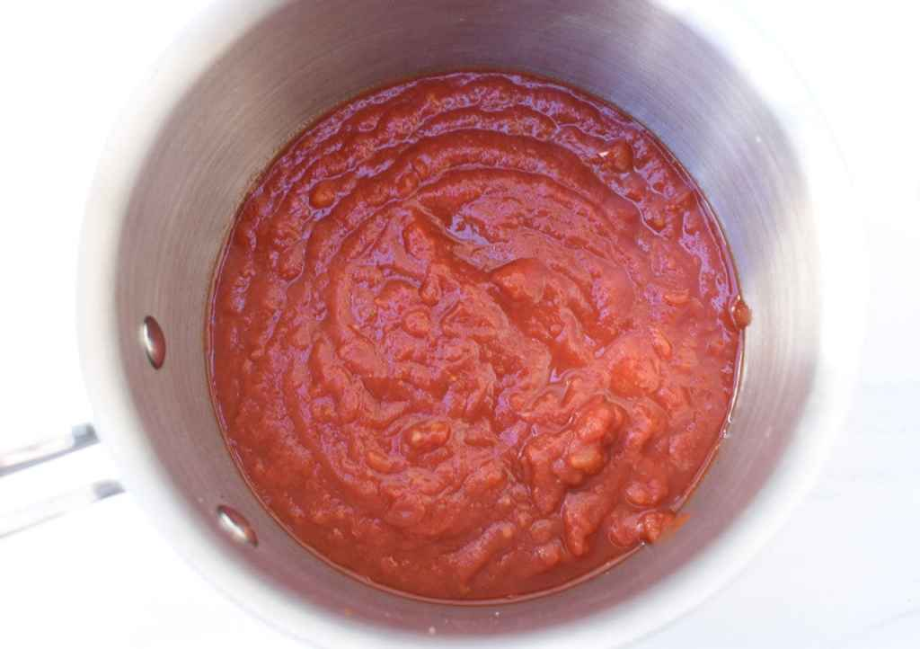 easy homemade marinara dipping sauce
