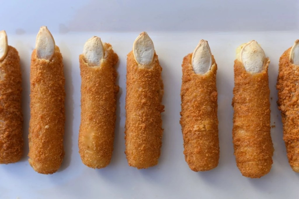 Witch finger mozzerella sticks recipe