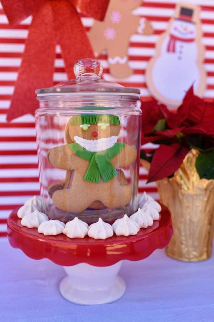 Cookie exchange gingerbread man