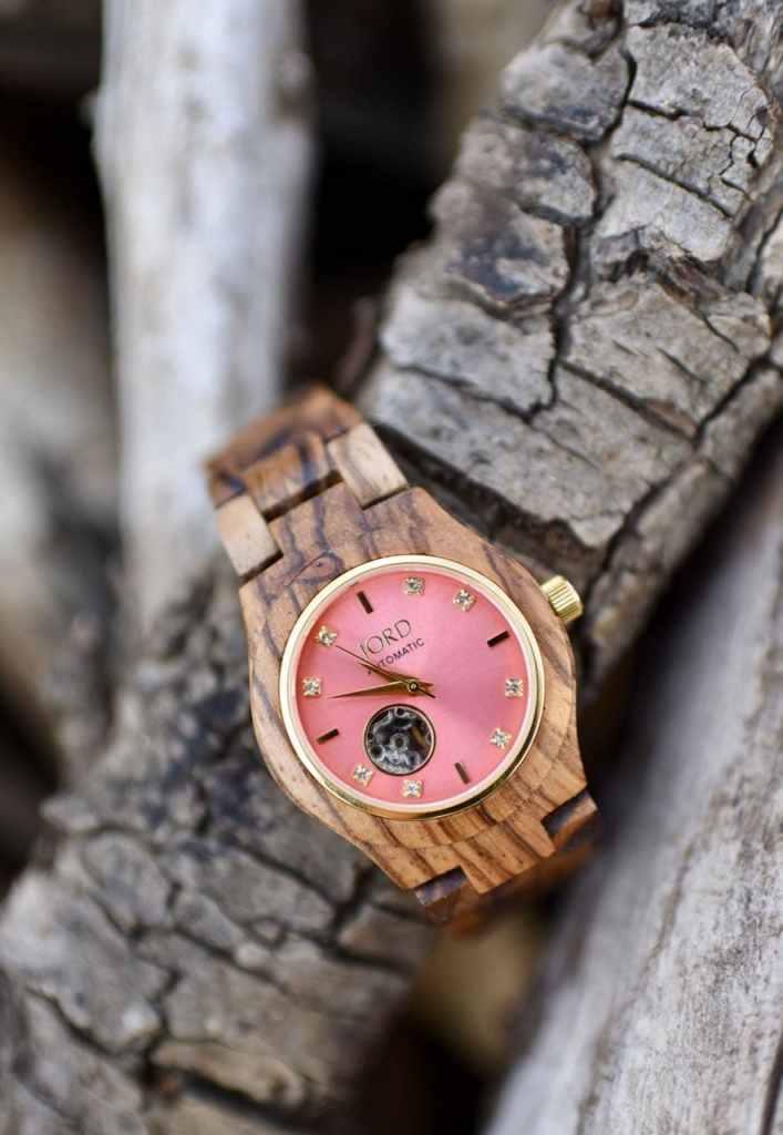 Joord wood luxury watch